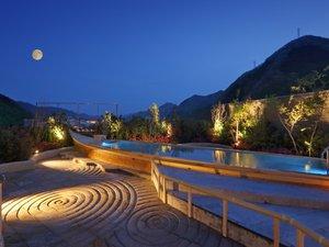 鬼怒川温泉 あさや:◆空中庭園露天風呂