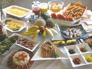 シーズイン八王子:好評な日替わり和洋朝食(月水金:洋食、火木土日:和食)※写真はイメージ