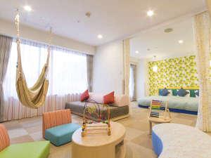 ホテルエピナール那須:【メインタワー3階】キッズデラックスルーム◆最大定員6名/和洋室