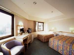 広島リッチホテル並木通り(旧:並木ホテル):ツインルーム(ファミリータイプ)