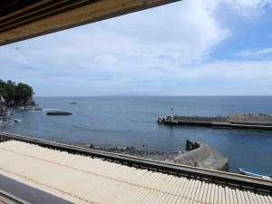 海が庭 みなとや:【展望貸切檜風呂】お風呂場から眺めることができる景色です。*