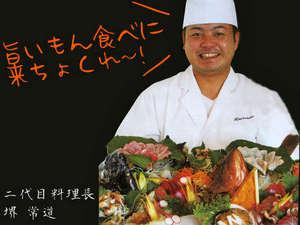 民宿 宝来荘:「壱岐の島グルメをまるごと堪能してください!」料理長