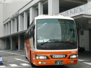 東京ベイ有明ワシントンホテル:ホテルより羽田空港・成田空港行きリムジンバスが運行しています。(予約制・有料)
