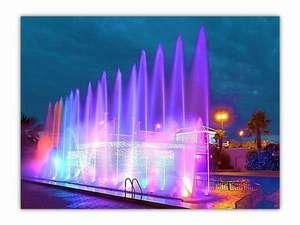 龍宮城スパ・ホテル三日月:踊る噴水ショー「ダンシングウォーター」