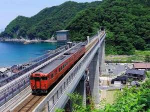 【余部(あまるべ)鉄橋「空の駅」】近代土木遺産のAランクに指定されていた旧余部(あまるべ)鉄橋