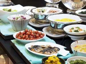 ホテルマイステイズ上野イースト:朝食バイキング