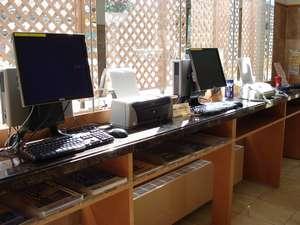 東横イン長崎駅前:自由にご利用いただけるロビーパソコン