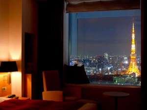 パークホテル東京:東京タワー側の眺望
