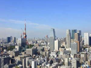パークホテル東京:フロントからの眺望