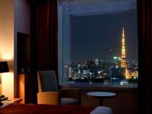 パークホテル東京:東京タワー側のお部屋からの眺望