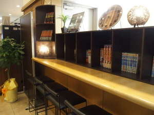 ホテルリブマックス鹿児島:喫茶コーナー