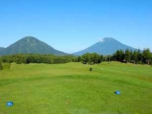 ルスツリゾートホテル&コンベンション:【ルスツリゾートゴルフ72】雄大な山々を眺めながらのリゾートゴルフ