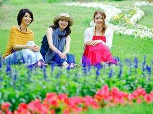 【花のみちル・ノンノ】:5月上旬~予定。約8万株・全長2kmのフラワーロード※天候で開花状況に変化有