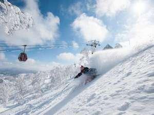 ルスツリゾートホテル&コンベンション:【スキー場】北海道有数のパウダースノーが舞い降りるゲレンデ