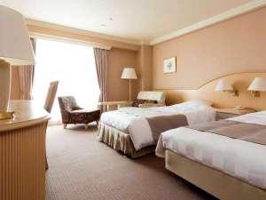 ルスツリゾートホテル&コンベンション:【ホテル&コンベンション】ノース&サウス洋室例(最大4名様迄収容可能な33㎡)
