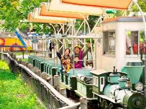 ルスツリゾートホテル&コンベンション:【遊園地】カントリートレイン:小さなお子様も楽しめる乗り物もいっぱい!