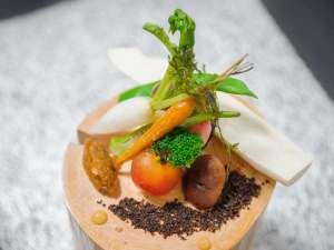 季澄香(トキスミカ)~中央アルプス杜の隠れ宿~:ある日の前菜