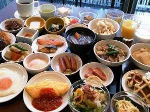 天然温泉 六花の湯 ドーミーイン熊本:◆品数豊富な和洋朝食バイキング