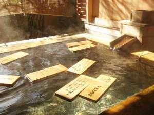信州しもすわ温泉 ぎん月:美肌の湯としても有名な下諏訪最古の源泉。泉質は肌に優しい弱アルカリ性。