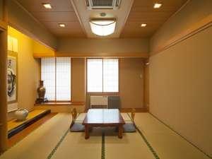 白川郷の湯:【和室】大人数ですごすなら、ゆったり和室がお勧め(一例)