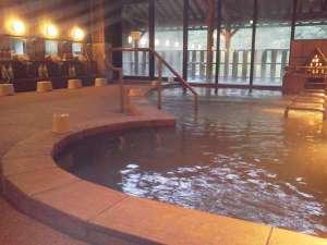 白川郷の湯:【温泉】広々としたお風呂(ジャグジーもあります)