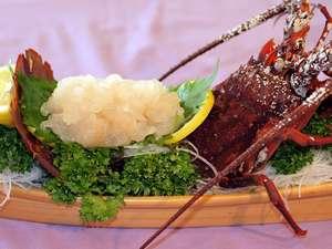 海の見える ペンションローズマリー:ぷりぷりと甘くて美味しい地物伊勢海老