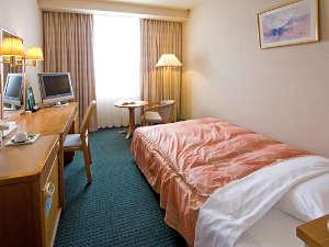 東京第一ホテル鶴岡:◇アネックスシングル/17.9㎡◇ 天然温泉 みはらしの湯はアネックス10階に。宿泊客は無料です♪