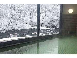 入畑温泉 瀬目乃湯:冬温泉