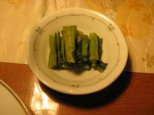 やっぱり冬の信州の漬け物は、野沢菜だよね☆