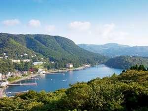 箱根芦ノ湖温泉 和心亭 豊月:館内から雄大な箱根山の眺めをお愉しみください
