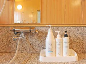 六日町温泉 いろりあん別館 さくら・さくら:*【浴室アメニティ】女性のためにシャンプー、コンディショナー、ボディシャンプーは良質の物をセレクト。