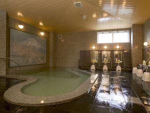 ホテルメルカート輪島:サウナ付き大浴場「長山の湯」でお仕事や旅の疲れをいやしてください。