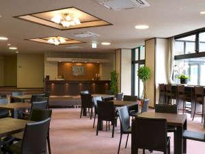 ホテルメルカート輪島:ビジネスユースにも最適!ロビーはWi-Fi対応でインターネット接続可
