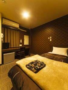 コンビニAyersRockホテル仙台多賀城:清潔感漂うお部屋でお休み頂けます