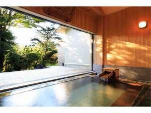 古代檜の半露天風呂