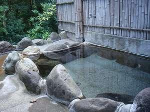 民宿しゃくなげ:露天風呂