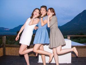 湯布院塚原高原 絶景の宿 恵里菜 KUMAGAI BOKUJO(熊谷牧場):◆女子会スナップ