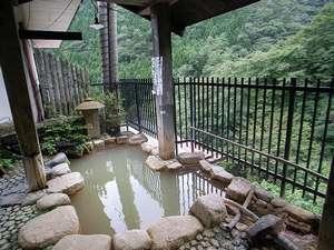 赤城温泉 御宿総本家:貸切露天風呂。温泉の泉質はかなりの自慢♪眺望もgoodですよ
