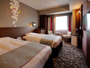 ホテル モンテ エルマーナ福岡(ホテルモントレグループ):ツインB(禁煙/21平米/120cm幅ベッド)