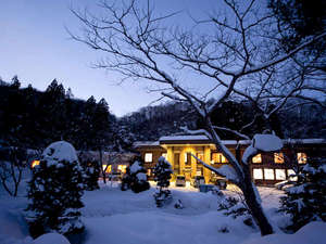 ユートピア和楽園 知内温泉旅館:*寒い冬はぽかぽかの温泉で体を温めましょう♪