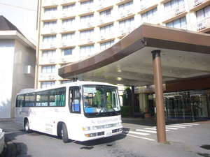 東横イン成田空港:無料送迎バス