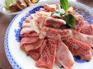 清和高原天文台 清和高原の宿:熊本阿蘇王の牛肉などを使った焼肉