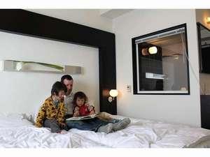 FURANO NATULUX HOTEL:カジュアルツインルーム お子様連れのお客様におすすめのお部屋です