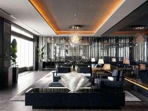 リーガロイヤルグラン沖縄:東シナ海を望むホテル最上階ロビーフロアー