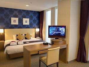 メルキュールホテル横須賀:【デラックスキング】客室最上階の特別フロアは優雅で快適な時間をお過ごし頂けます