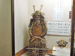 旅館 小幡勘兵衛:【歴史的展示物一例】旅館 小幡勘兵衛に受け継がれている歴史の展示物をご覧くださいませ。