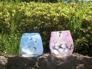 アート・ビオトープ那須:【ガラススタジオ】オリジナルのグラスや一輪挿しなどをつくります