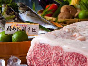 地元の鮮魚や豊後牛をはじめ、厳選素材を存分にお楽しみください(写真はイメージです)