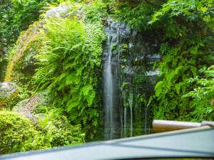 【離れ「菊乃間」】創業当時からの歴史を刻む数寄屋造りの日本家屋。庭園を眺めながら食事を楽しむ。