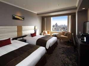 渋谷エクセルホテル東急:高層階にあるエクセルツイン。